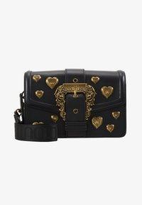 Versace Jeans Couture - BAROQUE LRG XB HEARTS - Sac bandoulière - nero - 5