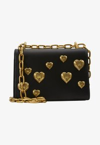 Versace Jeans Couture - HEARTS CHAIN SHDLR - Handtas - nero - 3