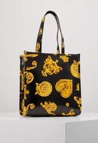 Versace Jeans Couture - MED NS TOTE BAROQ - Tote bag - nero/oro - 3