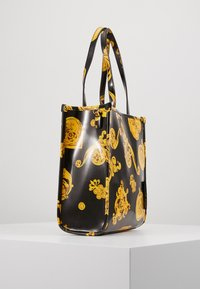Versace Jeans Couture - MED NS TOTE BAROQ - Tote bag - nero/oro - 4