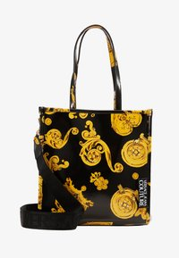 Versace Jeans Couture - MED NS TOTE BAROQ - Tote bag - nero/oro - 1