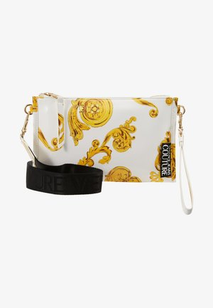 MED POUCH PATENT BAROQ - Clutch - white/gold