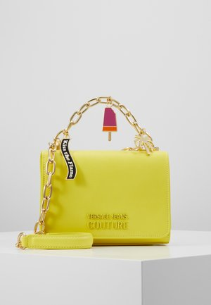 CHAIN CHARMS - Across body bag - yellow