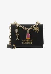 Versace Jeans Couture - CHAIN CHARMS - Schoudertas - nero - 5