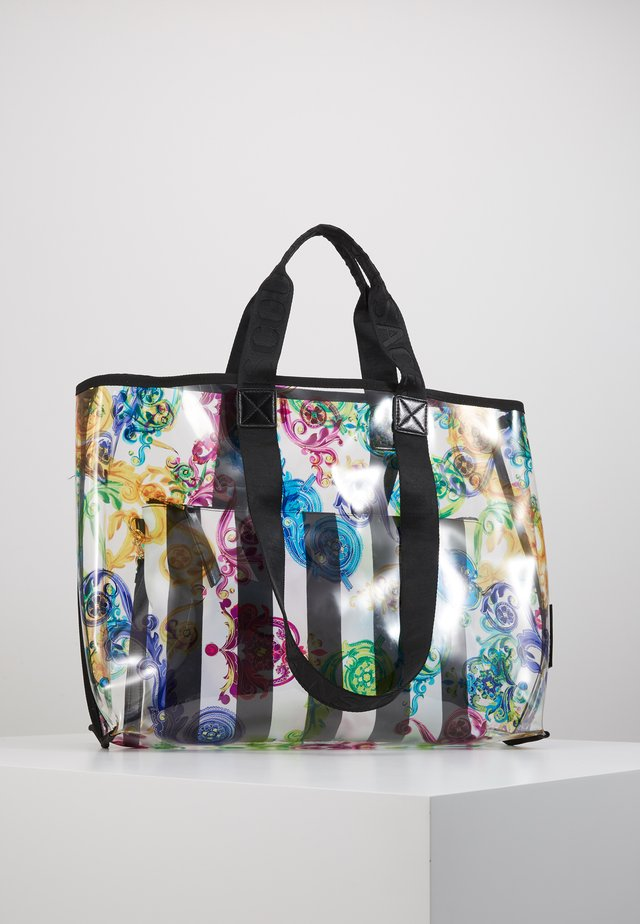 TRANSPARENT LRG SHOPPER - Tote bag - multicolour