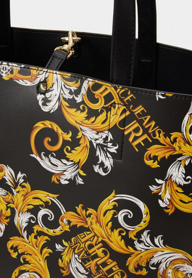 Borsa a mano - black/yellow
