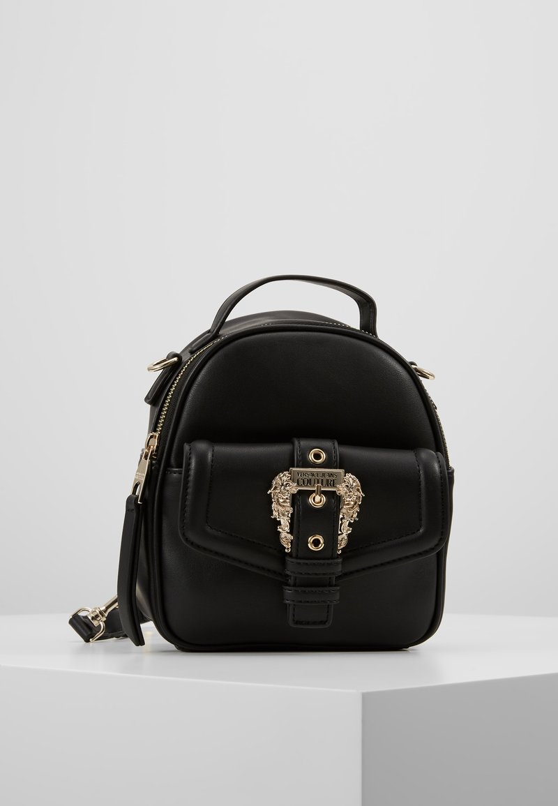 Versace Jeans Couture - BELT BUCKLE BACKPACK - Tagesrucksack - nero