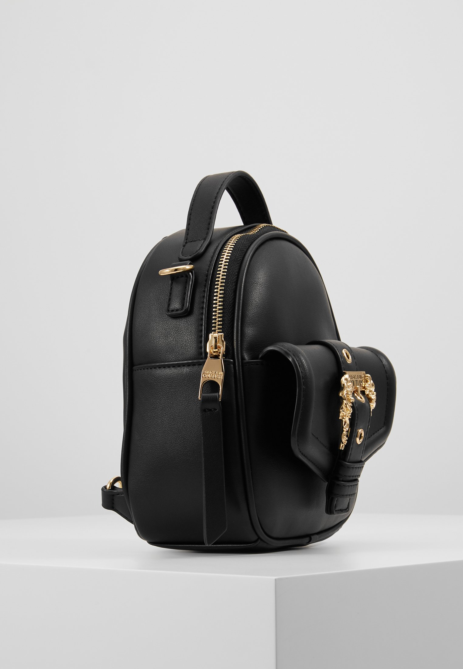 Versace Jeans Couture Baroque Buckle Mini Backpack - Zaino Black yZdjiJc