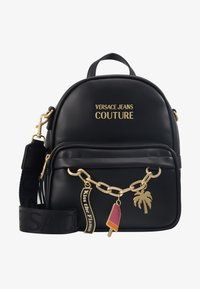 Versace Jeans Couture - MINI BACKPACK W/CHARMS - Tagesrucksack - nero - 1