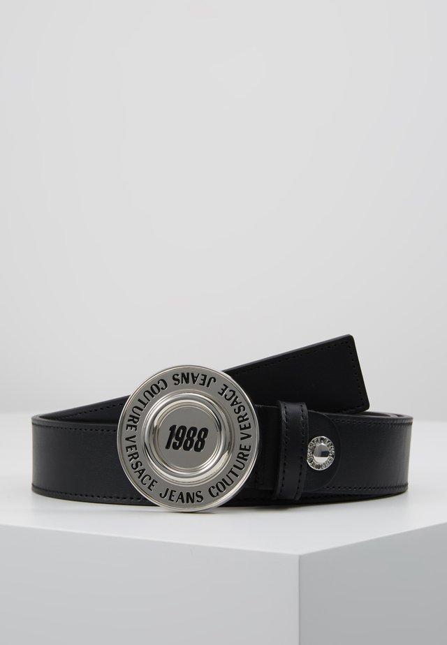 Pasek - black/silver-coloured