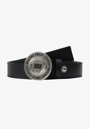 Pásek - black/silver-coloured