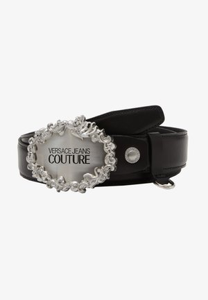 Belt - black/silver