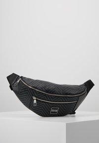 Versace Jeans Couture - LINEA CHEVRON - Sac banane - grey - 0