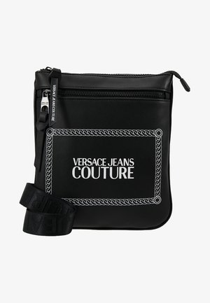 LINEA MACROTAG  - Across body bag - black