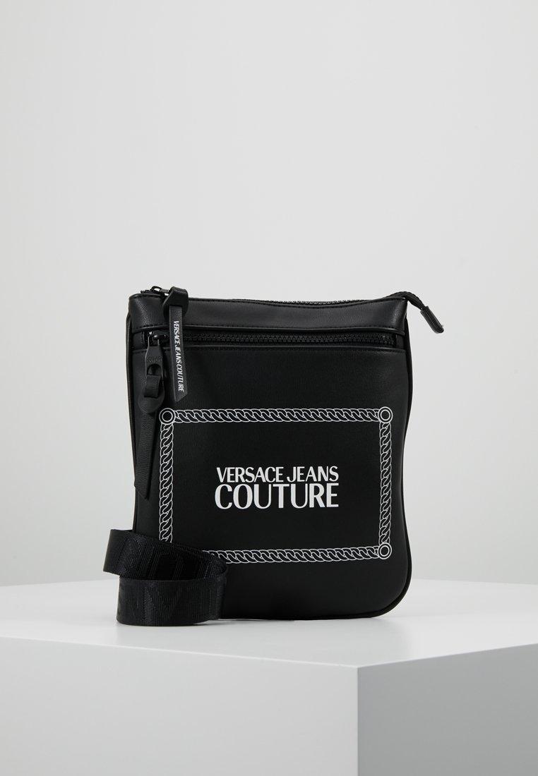 Versace Jeans Couture - LINEA MACROTAG  - Sac bandoulière - black