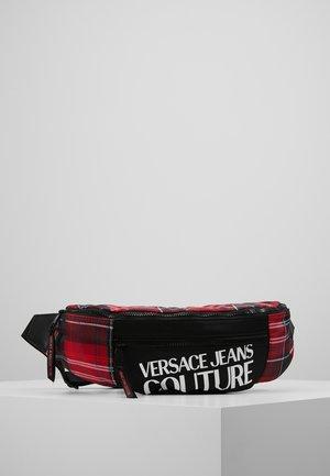 LINEA TARTAN - Bum bag - red