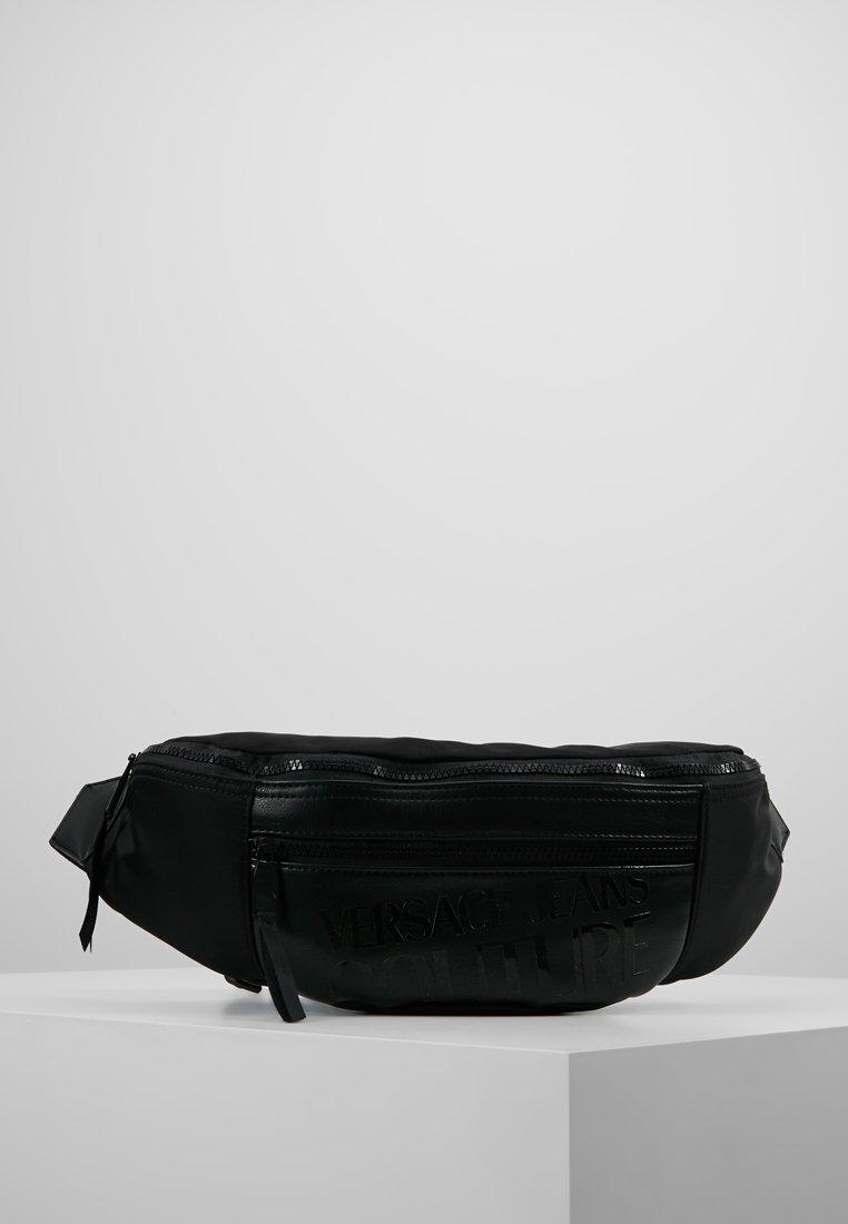 Versace Jeans Couture - LINEA TARTAN - Ledvinka - black