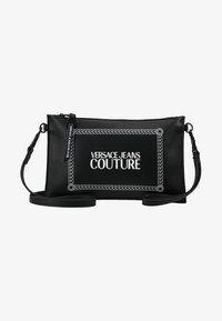 Versace Jeans Couture - LINEA MACROTAG - Borsa a tracolla - black - 6