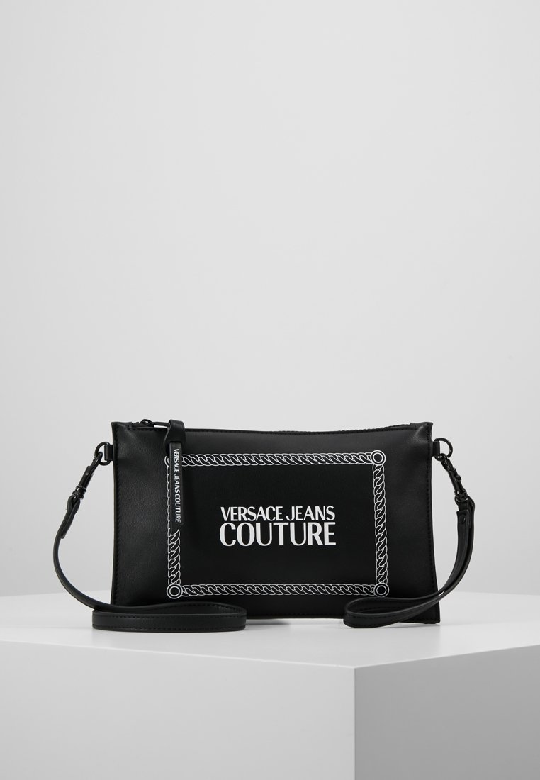 Versace Jeans Couture - LINEA MACROTAG - Borsa a tracolla - black