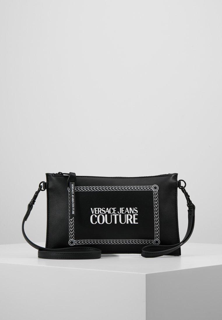 Versace Jeans Couture - LINEA MACROTAG - Across body bag - black