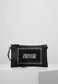 Versace Jeans Couture - LINEA MACROTAG - Borsa a tracolla - black - 5