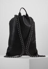 Versace Jeans Couture - LINEA MACROTAG - Sac à dos - black - 2