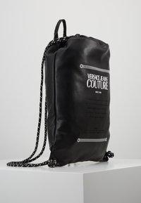 Versace Jeans Couture - LINEA MACROTAG - Sac à dos - black - 3