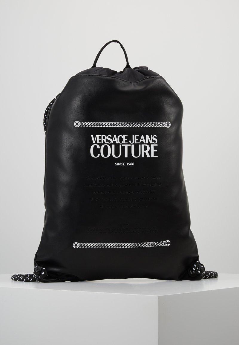 Versace Jeans Couture - LINEA MACROTAG - Sac à dos - black