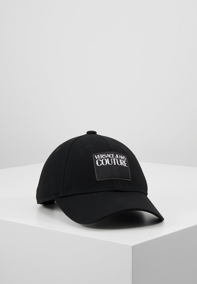Versace Jeans Couture - VISOR LABEL - Cap - black