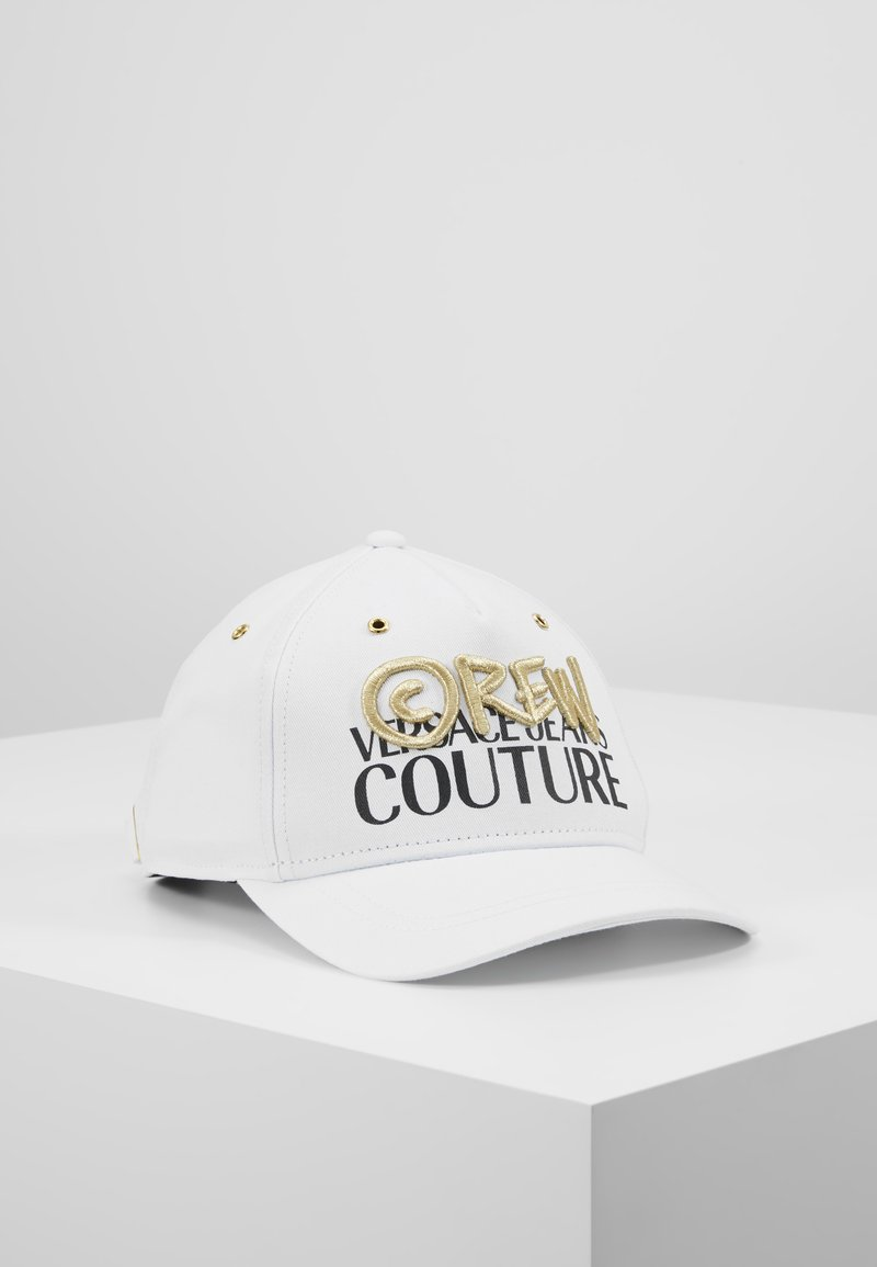 Versace Jeans Couture - MID VISOR EMBROIDERY  - Cap - white