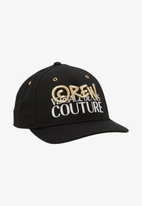 Versace Jeans Couture - MID VISOR EMBROIDERY  - Keps - black - 5