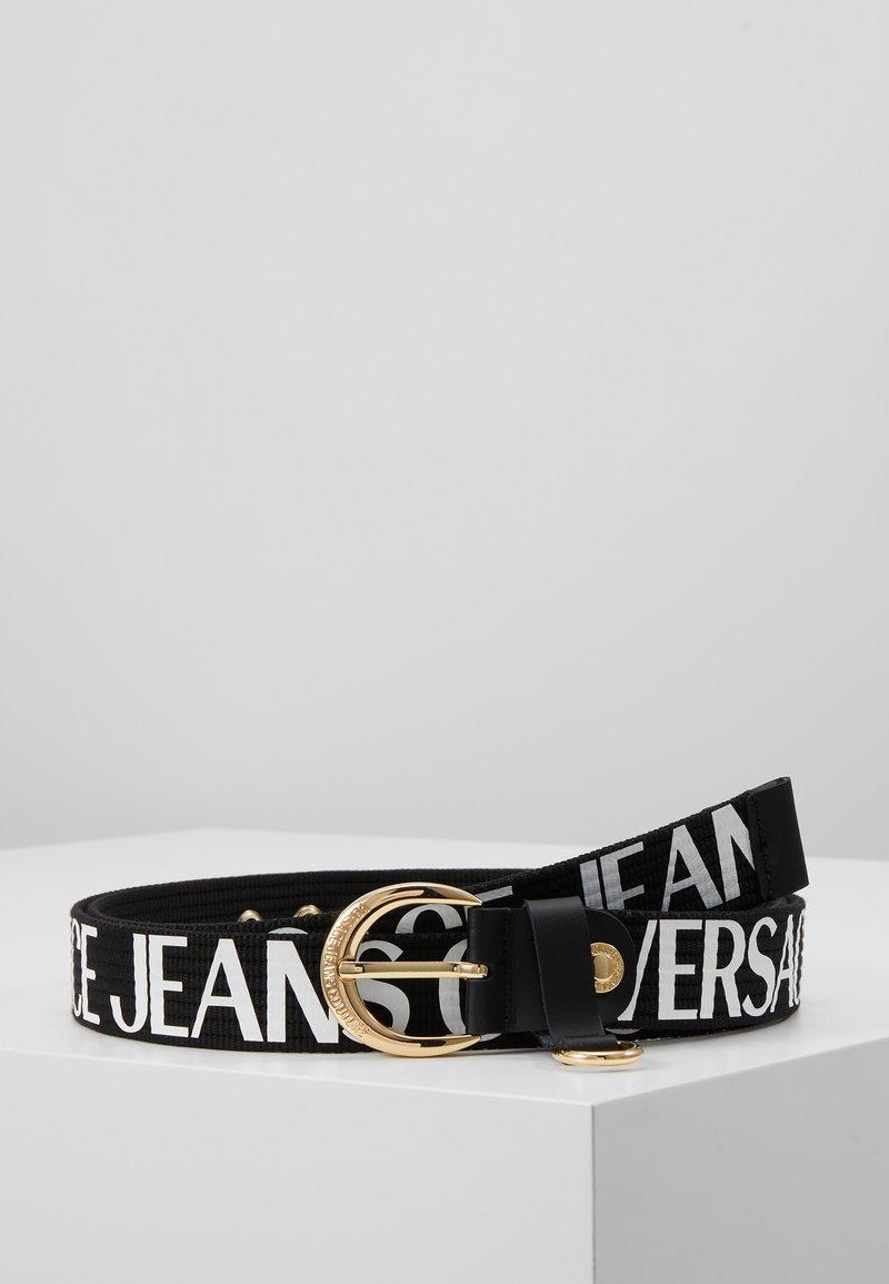 Versace Jeans Couture - Gürtel - black/white
