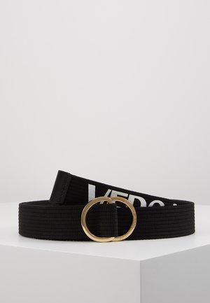 Belt - black/white