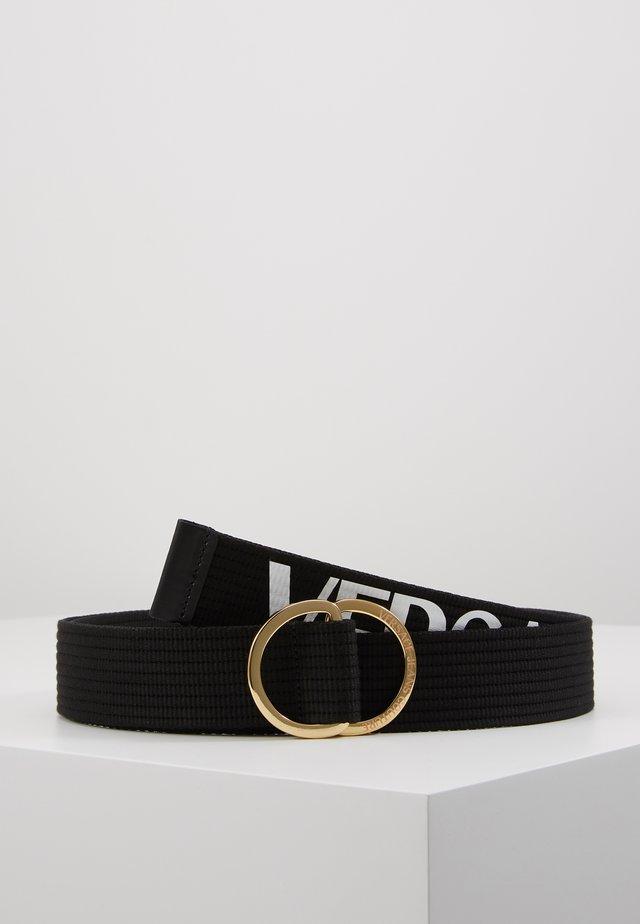 Pasek - black/white