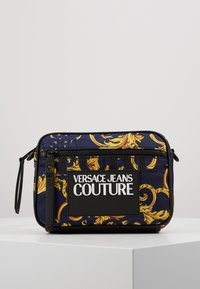 Versace Jeans Couture - Schoudertas - navy/gold - 0