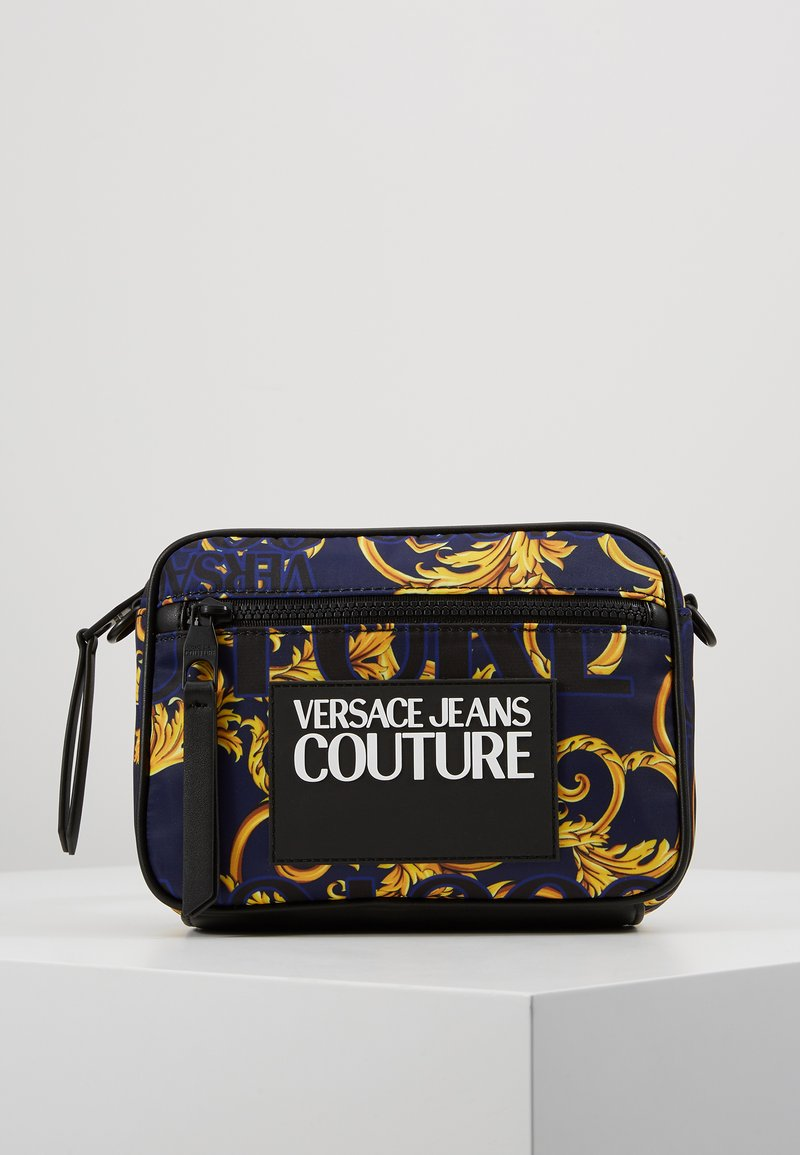 Versace Jeans Couture - Schoudertas - navy/gold