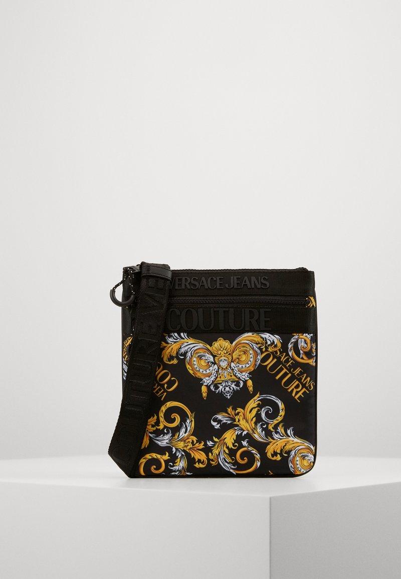 Versace Jeans Couture - UNISEX - Sac bandoulière - black/gold