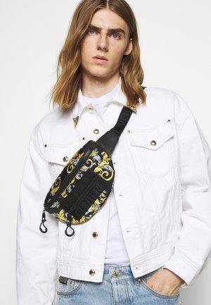UNISEX - Bum bag - black/gold