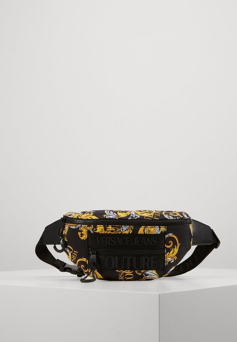 Versace Jeans Couture - UNISEX - Sac banane - black/gold