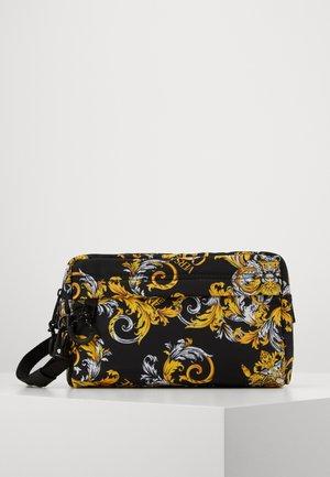 Wash bag - black/gold