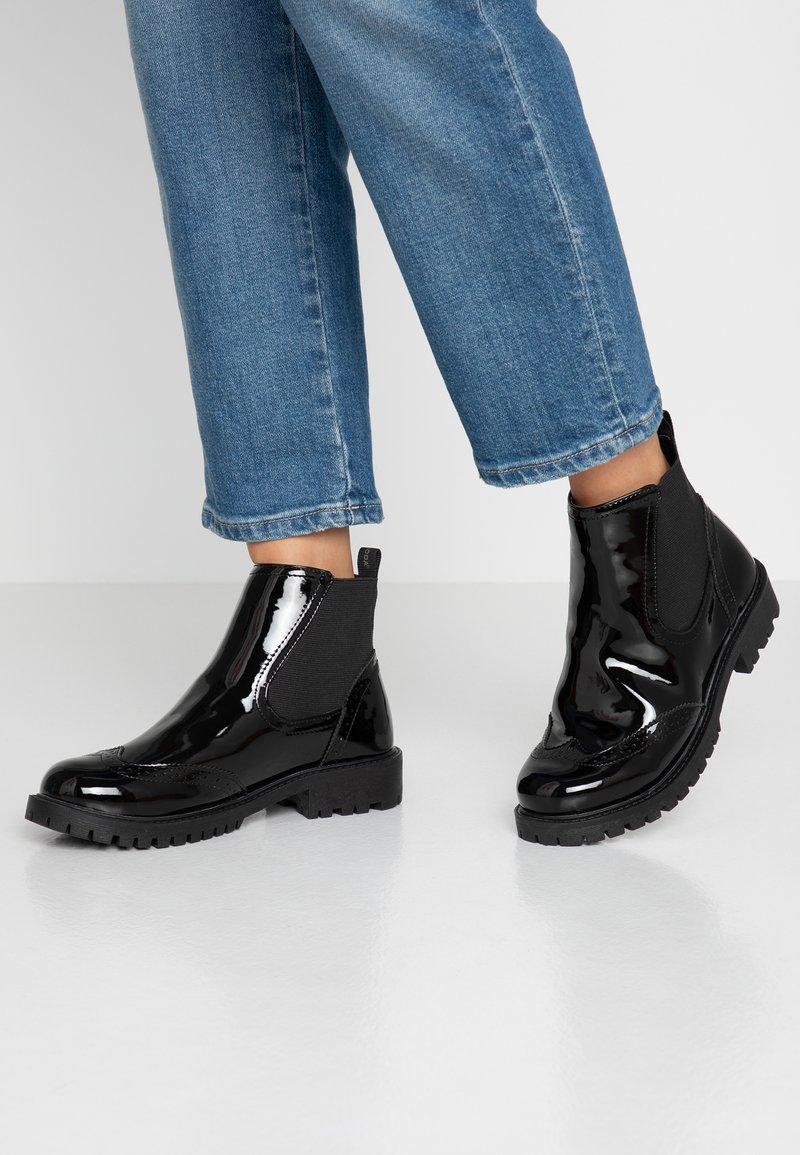 Vero Moda Wide Fit - VMGLORIAFEA WIDE FIT - Korte laarzen - black