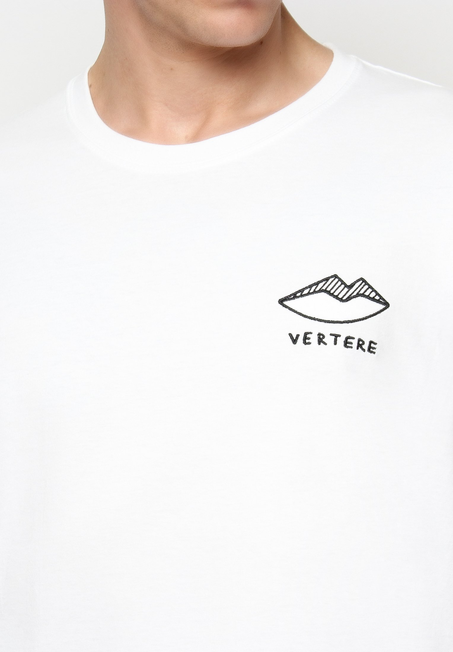 Vertere Berlin T-shirt z nadrukiem - white