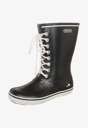 RETRO LIGHT - Stivali di gomma - black