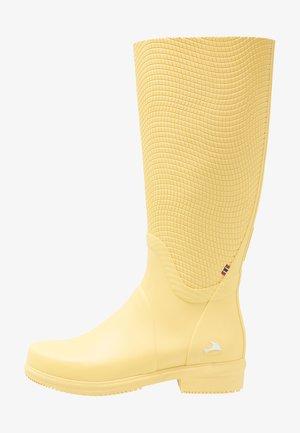 FESTIVAL - Kumisaappaat - yellow