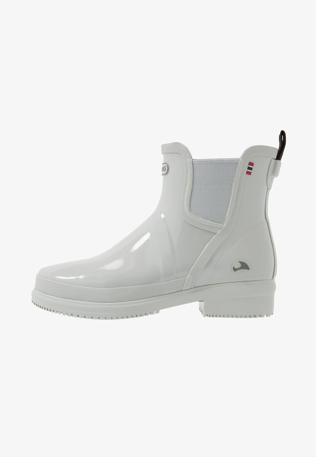 GYDA GLOSSY - Wellies - light grey