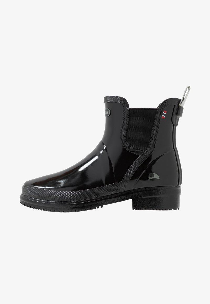 Viking - GYDA GLOSSY - Wellies - black