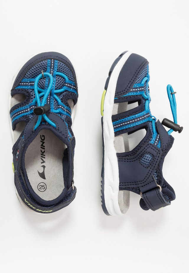 THRILL - Walking sandals - navy/demin