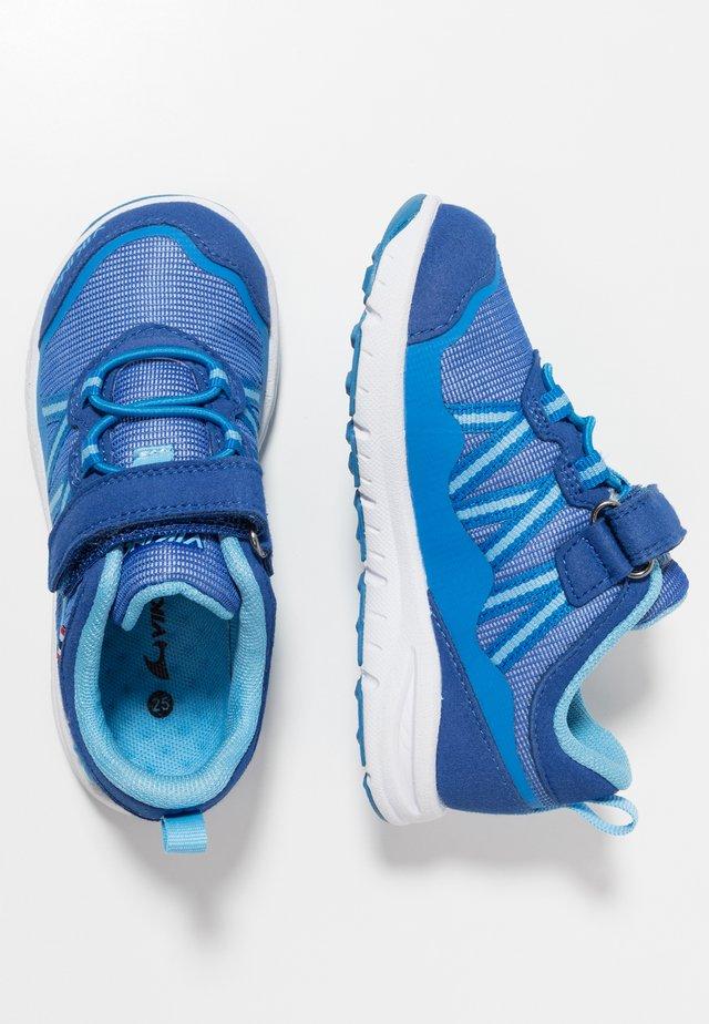 HOLMEN - Hiking shoes - dark blue/blue