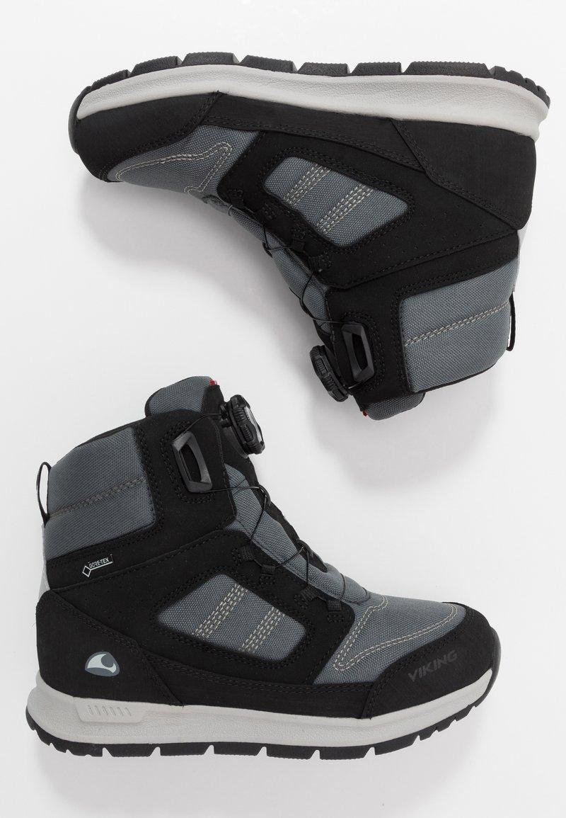 Viking - TRYVANN BOA GTX  - Zimní obuv - black/charcoal
