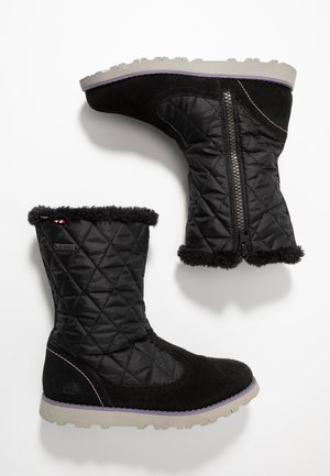 ROEA  GTX  - Winter boots - black/old rose